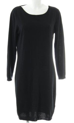 Alba Moda Sweaterjurk zwart elegant