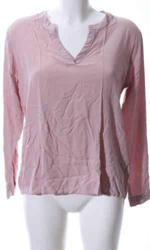 Amisu Langarm-Bluse pink Casual-Look