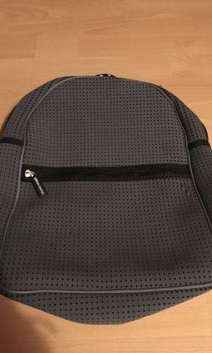Sac à dos pour ordinateur portable noir-gris anthracite