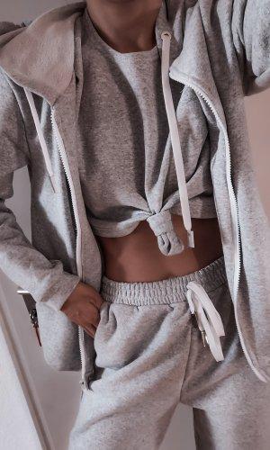 Traje de pantalón gris claro-gris