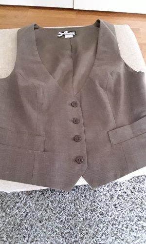 Class Herenvest grijs-bruin