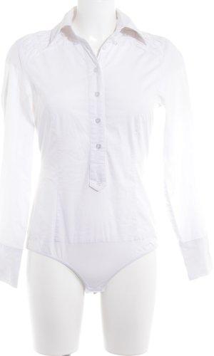 Apart Blusen-Body weiß Elegant