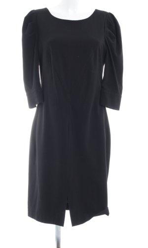 Apart Langarmkleid schwarz Elegant