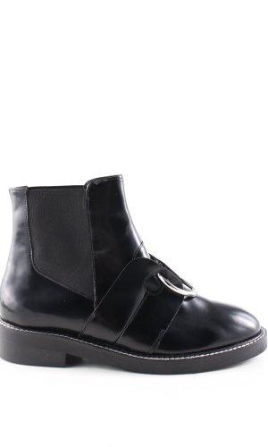 Asos Laarsjes zwart zakelijke stijl