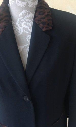 Authentic Lange blazer zwart Polyester