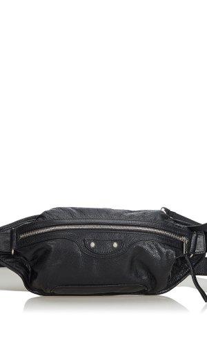 Balenciaga Riñonera negro Cuero