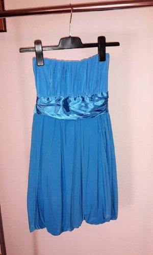 Robe ballon bleu