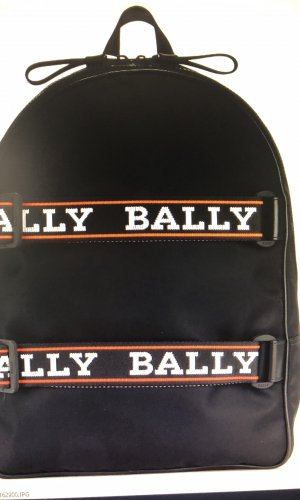 Bally Sac à dos pour ordinateur portable noir