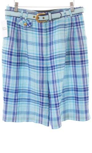 Basler Jupes-culottes motif à carreaux style décontracté