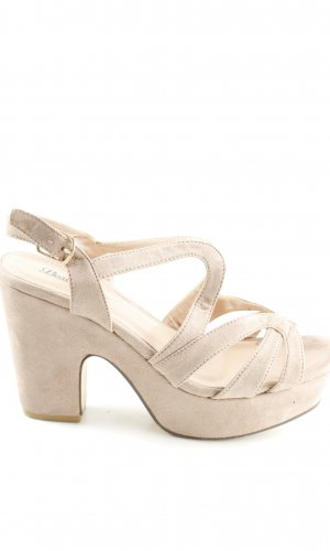 Plateauzool pumps room casual uitstraling