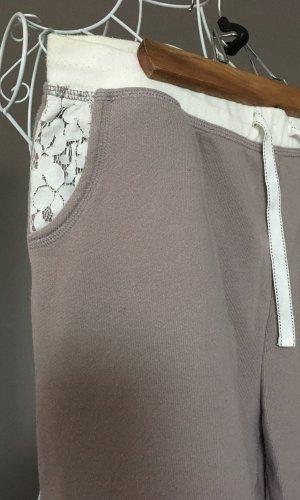 Beedees Chándal marrón grisáceo-blanco puro