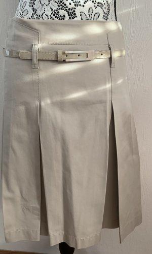 esprit collection Jupe à plis beige clair-beige