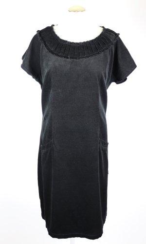 Deerberg Robe ballon noir coton