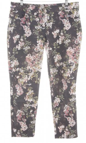Best Connections Stoffhose Blumenmuster Casual-Look