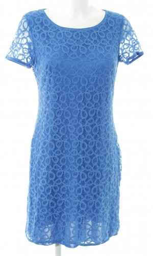 Betty Barclay Robe en dentelle bleu imprimé allover style d'affaires