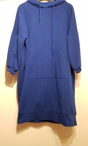 Sweaterjurk blauw