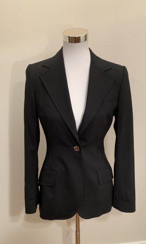 Dolce & Gabbana Lange blazer zwart