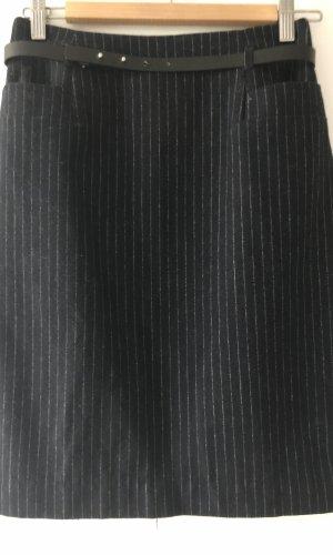 Bleistiftrock mit Streifen