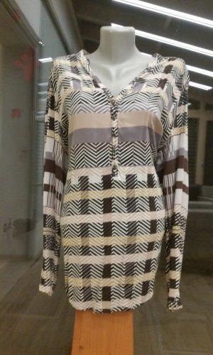 Cartoon Lange blouse veelkleurig