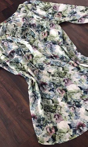 Street One Lange blouse veelkleurig Gemengd weefsel