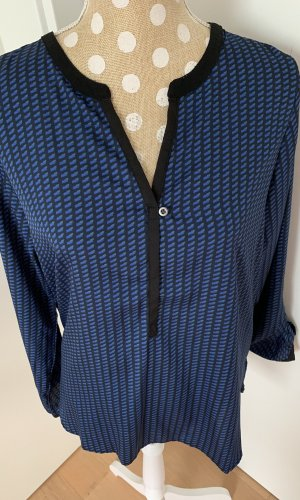Daniel Hechter Lange blouse zwart-blauw