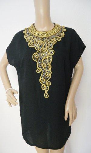 Lange blouse zwart