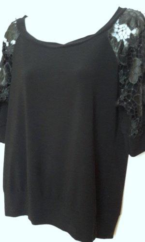 Orsay Gehaakt shirt zwart