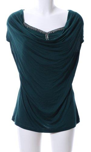 Bodyflirt Waterval shirt groen zakelijke stijl