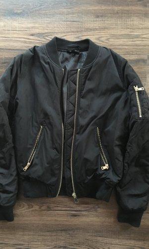 Topshop Bomber Jacket black