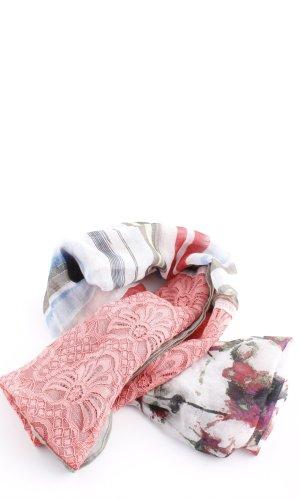 Bonita Écharpe ronde motif abstrait style décontracté
