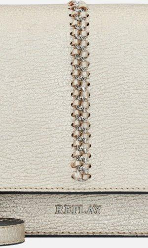 Brandneu Replay Tasche Handtasche gold metallic Umhängetasche Neu mit Etikett 129€