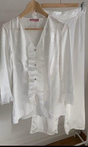 Pijama blanco