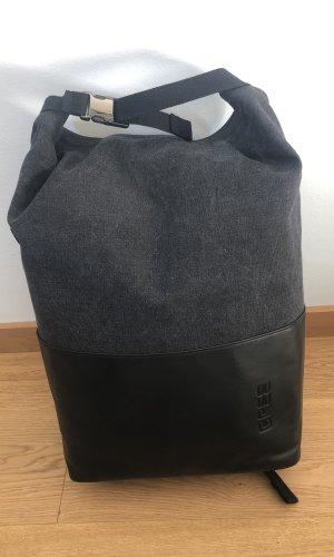 Bree Sac à dos pour ordinateur portable gris anthracite-noir
