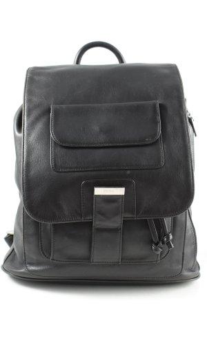 Bree Sac à dos pour ordinateur portable noir style décontracté