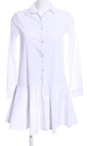 Breuninger Robe chemise blanc style décontracté