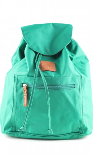 Bric's School Backpack turquoise casual look