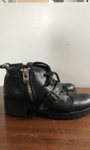Bronx Zapatos brogue negro