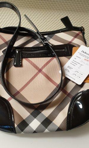 Burberry Crossbody Bag Lack schwarz