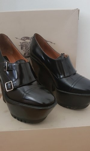 Burberry Monjes negro Cuero