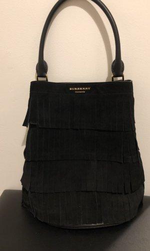 Burberry Fringed Bag black