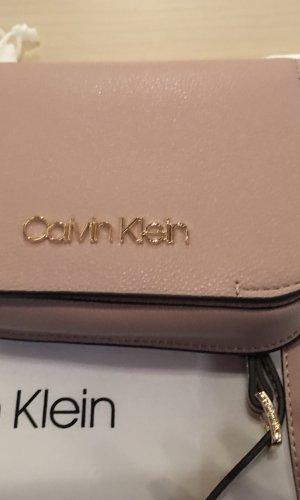 Calvin Klein Riñonera rosa empolvado Imitación de cuero