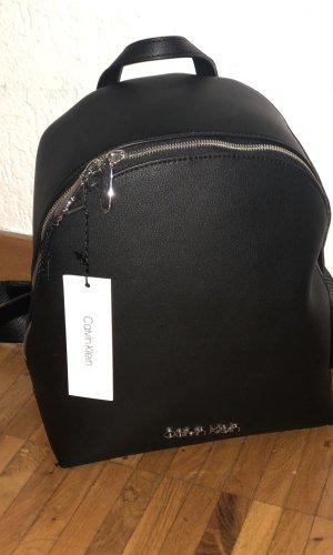 Calvin Klein Sac à dos pour ordinateur portable noir-argenté