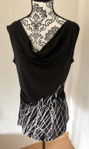 Calvin Klein Waterval shirt zwart-wit