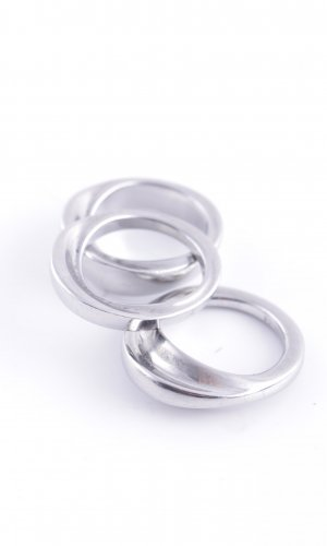 Calvin Klein Silver Ring silver-colored casual look