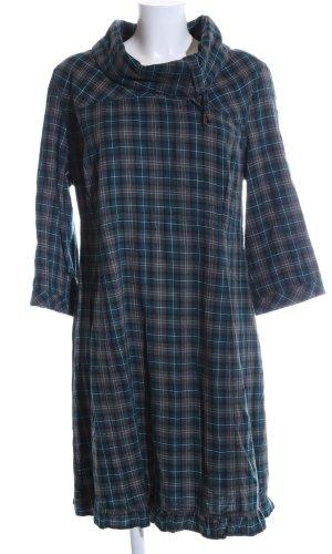 Cecil Robe chemise gris clair-bleu imprimé allover style décontracté