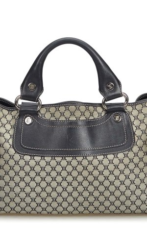Celine Macadam Canvas Boogie Bag