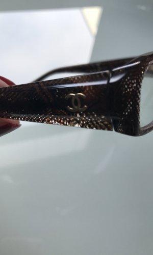 Chanel Brille/Gestell mit goldenem Logo