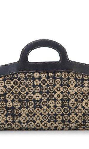 Chanel Bolso de viaje beige Algodón