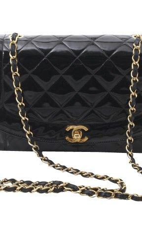 Chanel Comprador negro Cuero