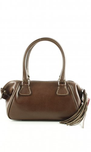 Chanel Carry Bag brown business style